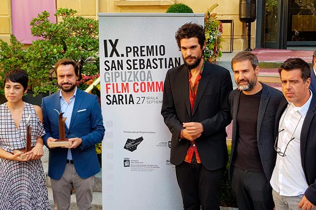 Asturias Paraíso Natural Film Commission, premiada en San Sebastián por su colaboración en el rodaje de O que arde de Oliver Laxe